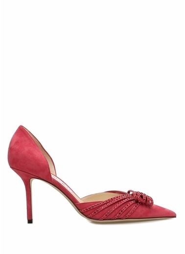 Jimmy Choo Ayakkabı Pembe